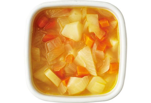画像: B じゃがいもとにんじんのスープの素