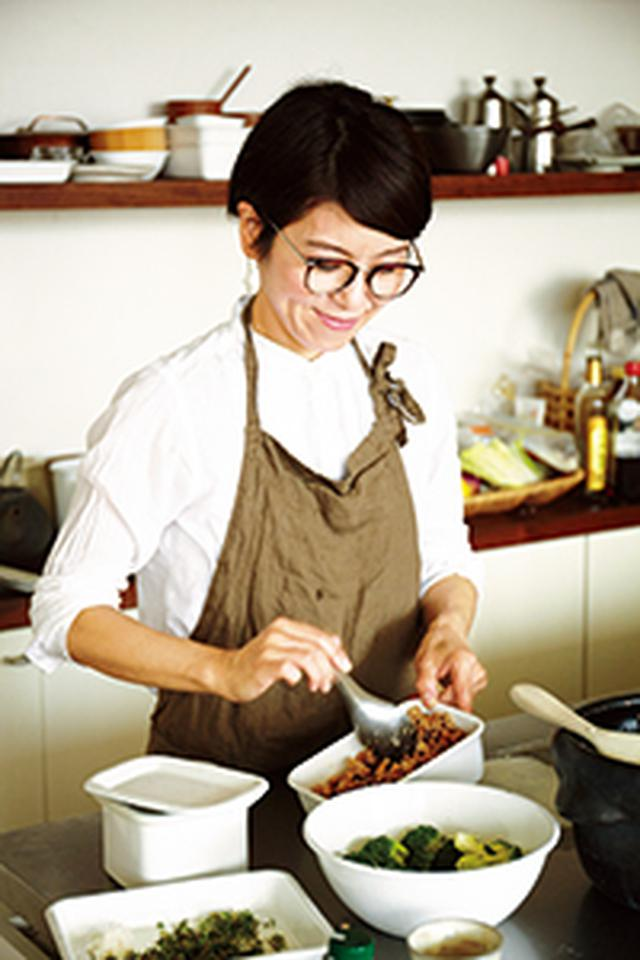 画像: E 豚肉の香草塩マリネの展開アイデア