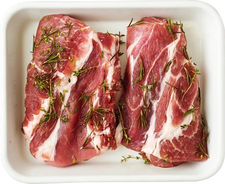 画像: E 豚肉の香草塩マリネ