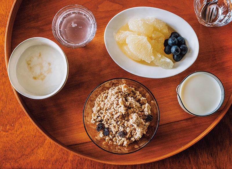 画像: 味覚が変わらないので朝食もおいしく