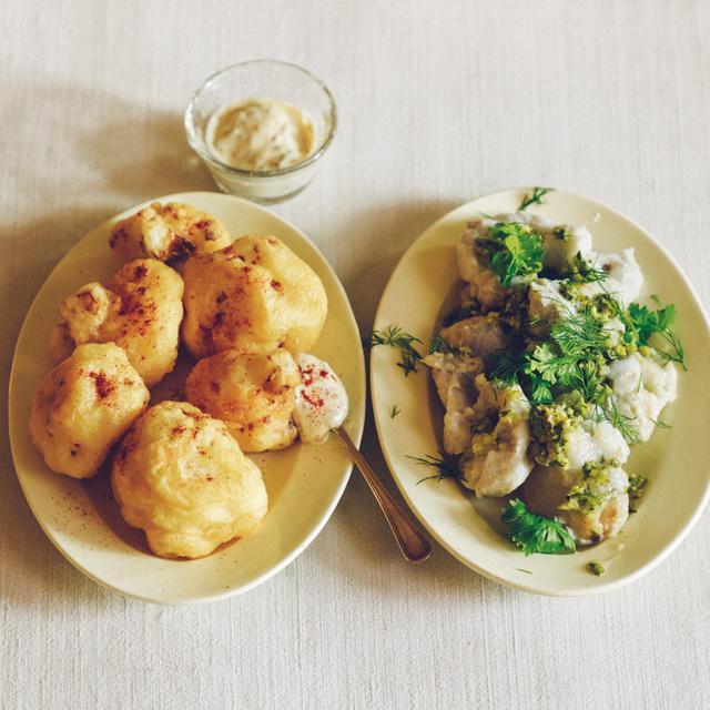 画像: 巻頭料理 冷水希三子さん 冬野菜を楽しむひと皿