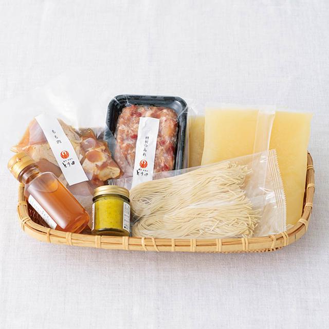 画像: 「キッチンパラダイス」店主・田中文さんおすすめの水炊きセット
