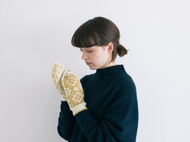 画像: 〈春〉オルレアをモチーフにした編み込み模様のパターン