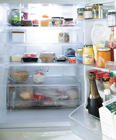 画像: 食品を入れすぎないこと