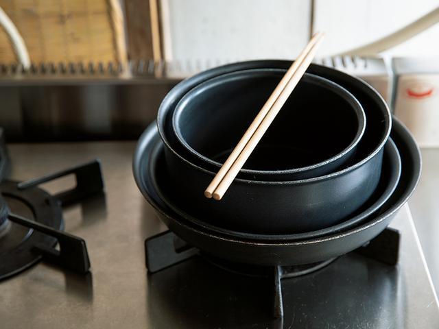 画像1: 調理道具は最小限に、シンプルに