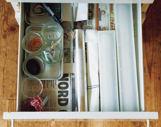 画像: 引き出しごとに、用途を決める
