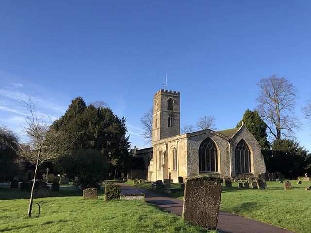 画像: チャールブリーのセントメアリー教会