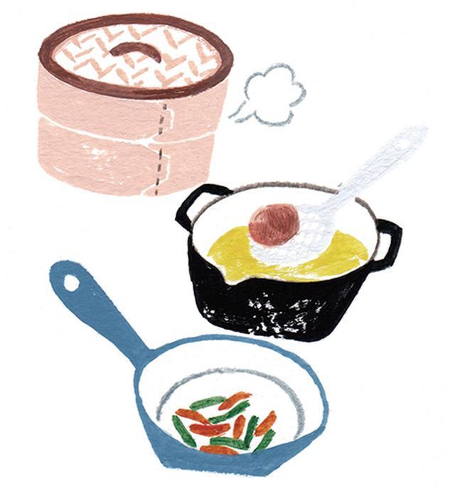 画像: 献立内の調理法を変える