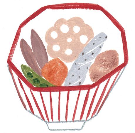 画像: ひと皿に3つの食感を意識