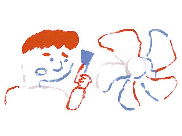 画像: 換気扇掃除の大失敗