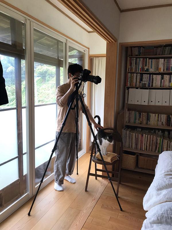 画像: カメラマンのアシスタントも務めてくれました