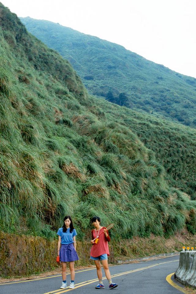 画像1: 陽明山国家公園へと続く道
