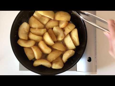 画像: はなのお菓子|タルトタタン ~紅玉でタルトタタンをつくる|天然生活web *動画では「グラニュー糖」を使っています youtu.be