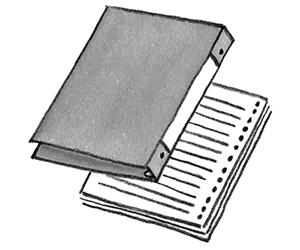 画像1: いざというとき頼れる便利ノートいろいろ 家族が自然に手伝える「家事ノート術」