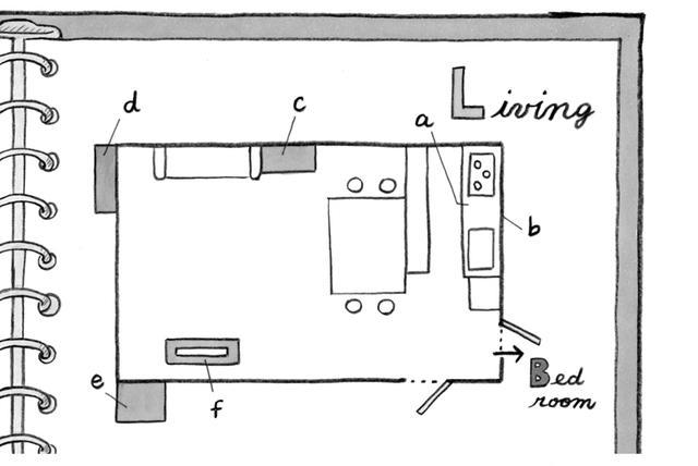 画像1: 収納マップ