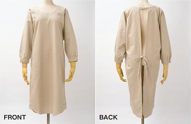 画像: 身頃も袖も適度に体に添う、すっきりデザイン