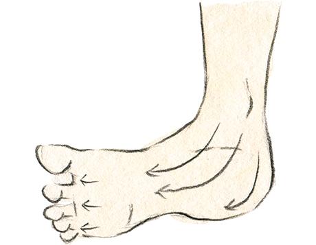 画像: 足のマッサージ
