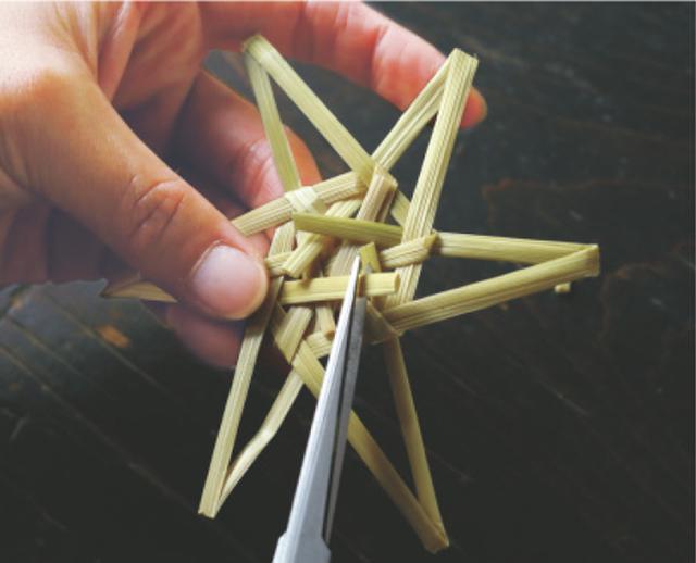 画像14: 星のオーナメントのつくり方