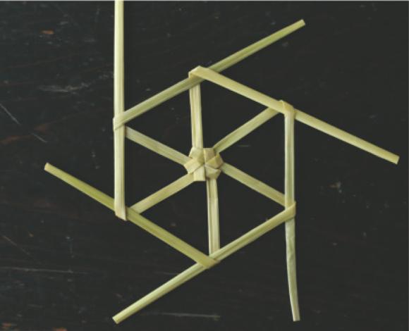 画像3: 雪の結晶のオーナメントのつくり方