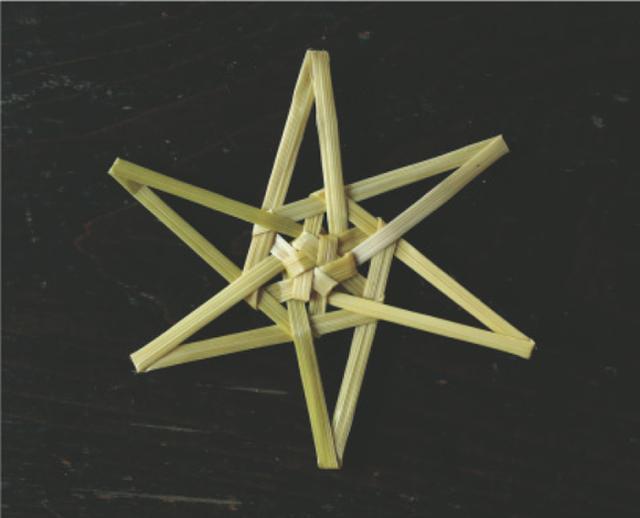 画像15: 星のオーナメントのつくり方