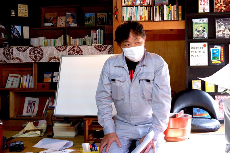 画像: 講師の一級石材施工石積み技能士・今井了恵さん