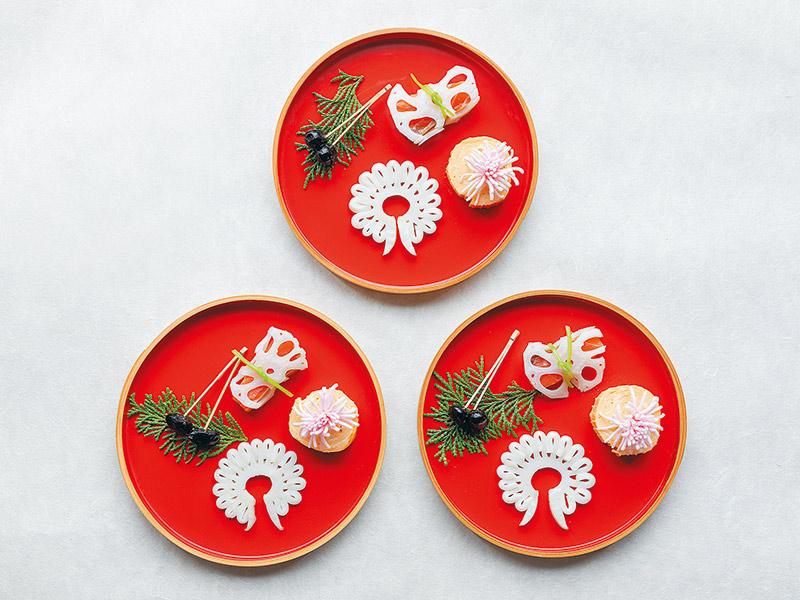画像: 大晦日のうちにおせちと一緒に仕込んでおき、元日の朝にお皿に並べてテーブルへ