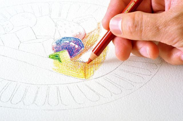 画像2: クリアな発色で、細い線も塗りも楽々描ける色鉛筆