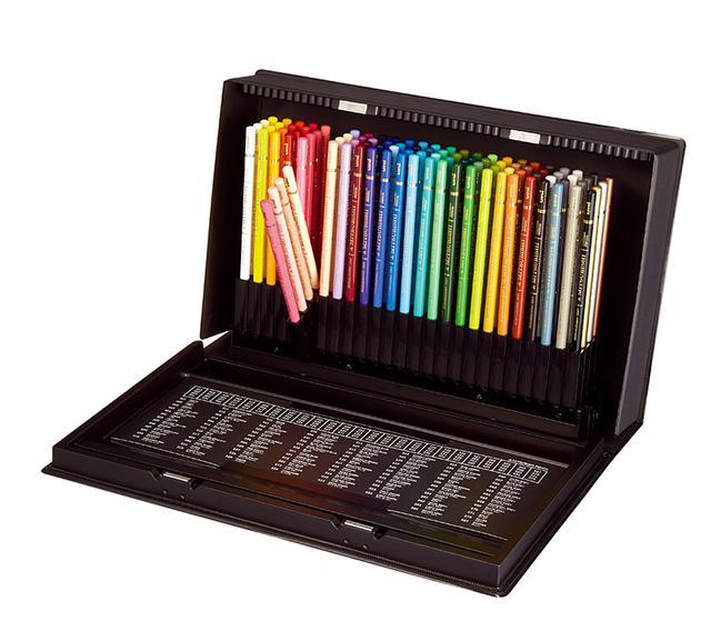 画像1: クリアな発色で、細い線も塗りも楽々描ける色鉛筆