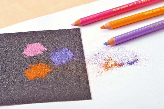 画像3: クリアな発色で、細い線も塗りも楽々描ける色鉛筆