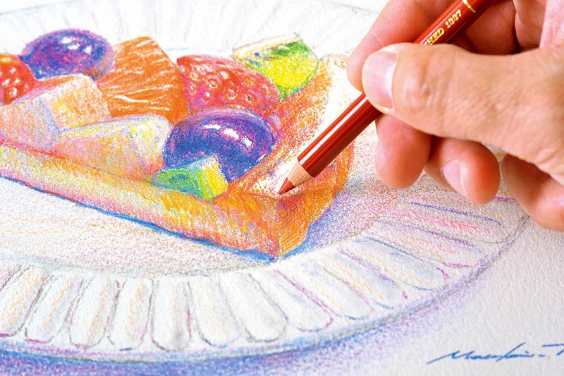 画像5: クリアな発色で、細い線も塗りも楽々描ける色鉛筆