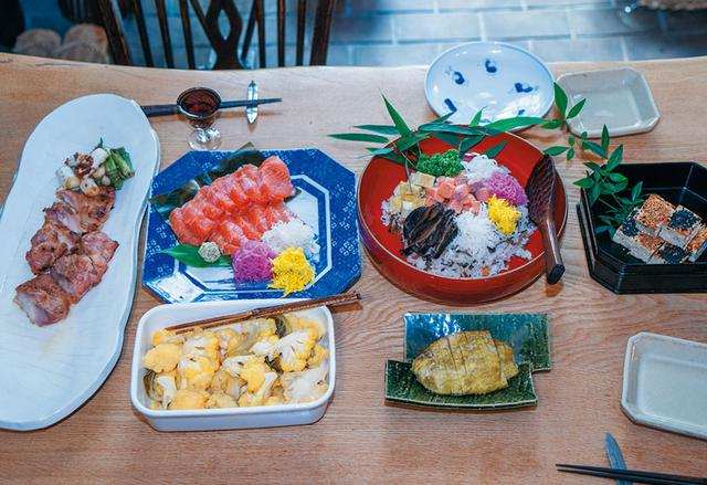画像: 毎日の食事には、必ず自家製漬物を添える。この日は奈良漬けとともに
