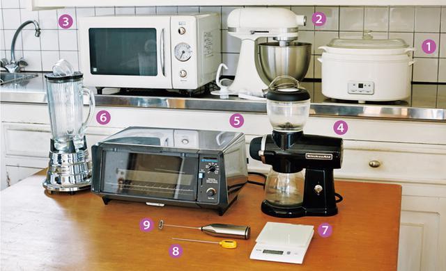画像: 石黒智子さんの台所道具 必要不可欠な自慢の家電