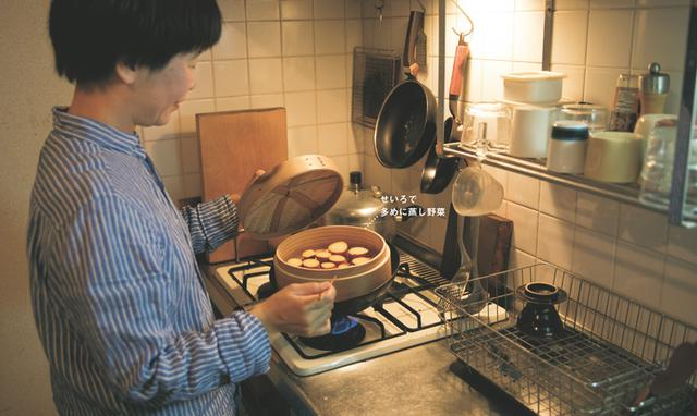 画像: 06:30 朝食とお弁当の準備と夕食の下ごしらえ