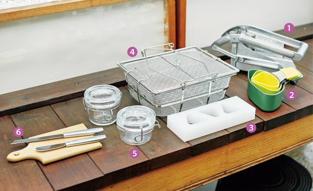 画像: 石黒智子さんの台所道具 ここ最近、新調した優れもの
