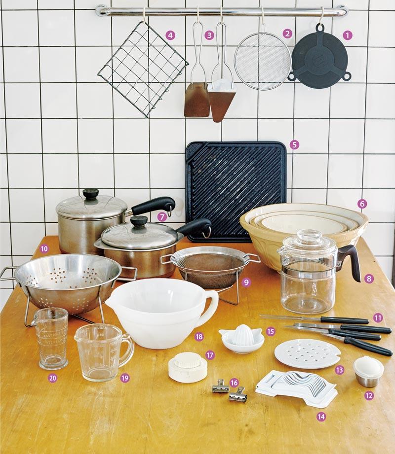 画像: 石黒智子さんに聞く、本当に頼りになる台所道具