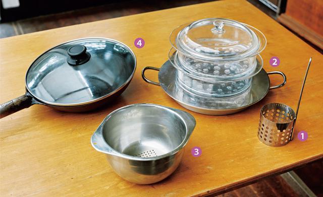 画像: 石黒智子さんの台所道具 プロに頼んでつくってもらったもの