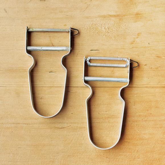 画像: アルミハンドルに刃を付け替えて