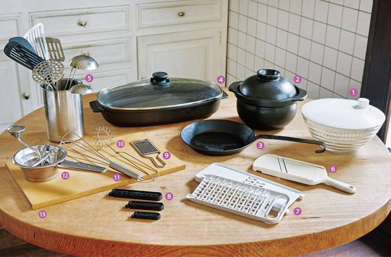 画像: 石黒智子さんの台所道具 何度も買い替えてたどり着いた品