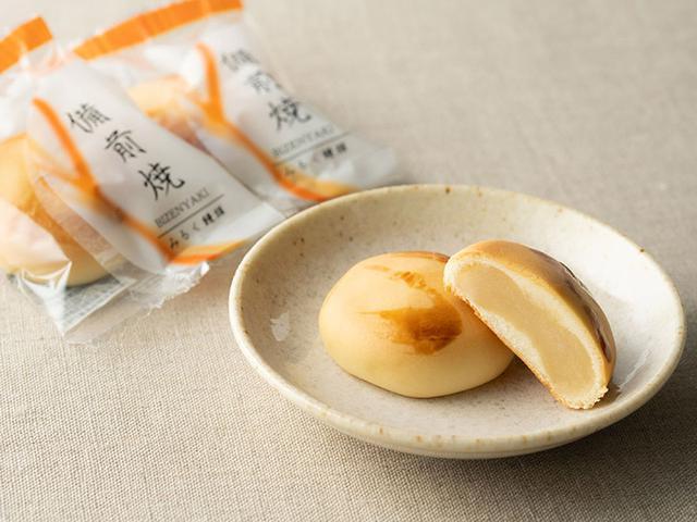 画像: 備前焼みるく饅頭 5個入り 648円(小倉産業)