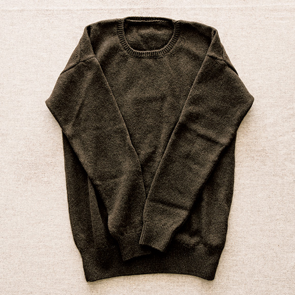 画像: えみおわすのセーター