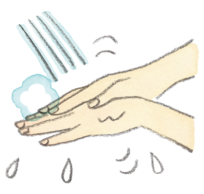 画像: 泡切れがよく、すすぎも簡単