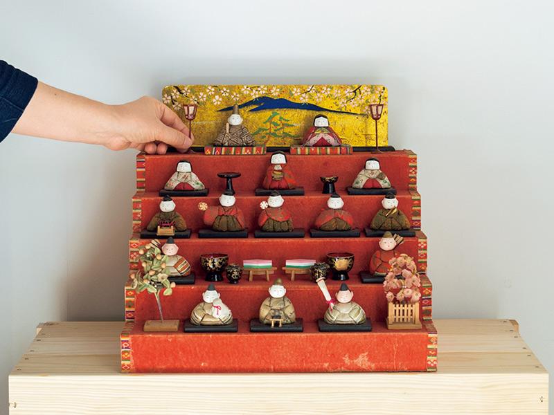 画像1: 土切敬子さん 自分のための雛祭り