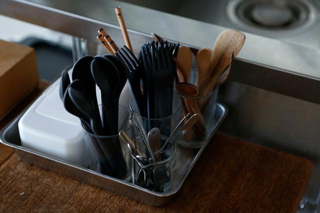 画像: 生活感を感じさせない、すっきり使いやすいキッチン収納