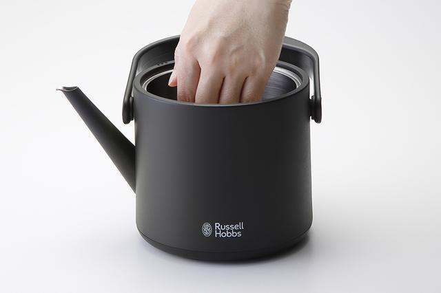 画像3: 保温機能つきで、手軽にいつでもおいしいお茶が飲める
