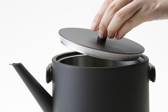 画像6: 保温機能つきで、手軽にいつでもおいしいお茶が飲める