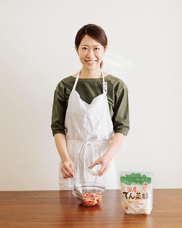 画像: 「料理にお菓子に、我が家では国産てん菜糖が大活躍。とくに和食との相性は抜群です」と吉田さん