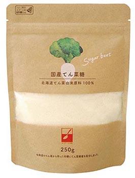 画像: 国産てん菜糖クラフト 250g 490円(税込) 環境にやさしい水性印刷のクラフト袋タイプが、新発売。三井製糖オンラインショップで限定販売