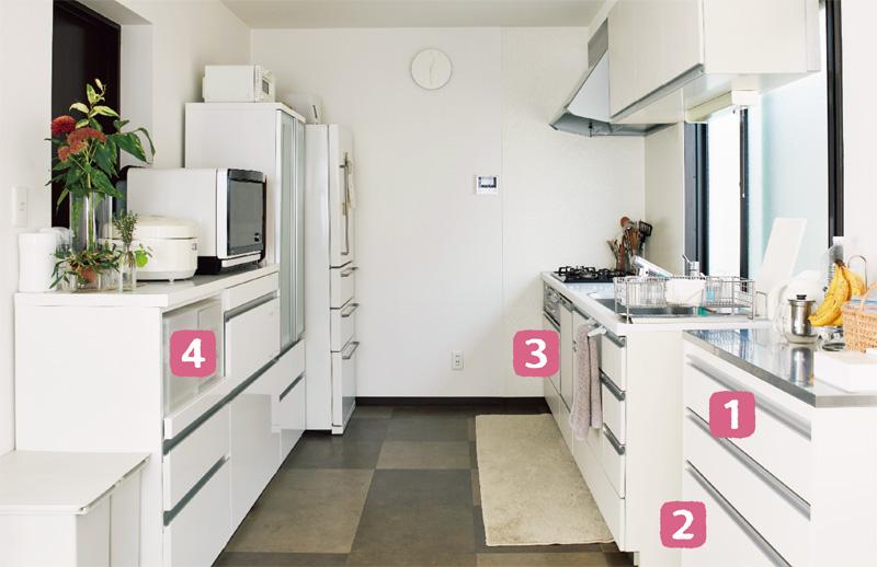 画像: 藤吉さんのお宅のキッチン