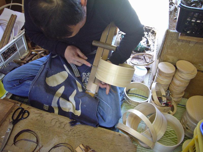 画像: 「山一」の曲輪弁当箱