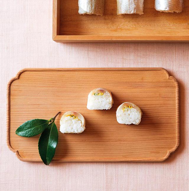 画像: 小鯛寿司のつくり方